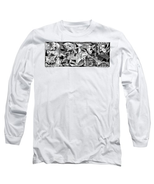 Democrat Guernica Long Sleeve T-Shirt