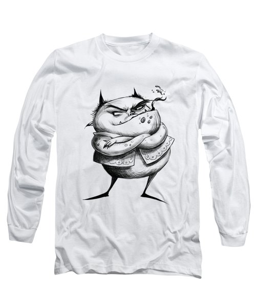 Demon Long Sleeve T-Shirt by Andy Catling