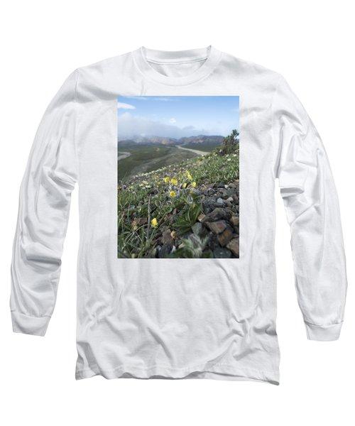 Denali Wildflowers Long Sleeve T-Shirt