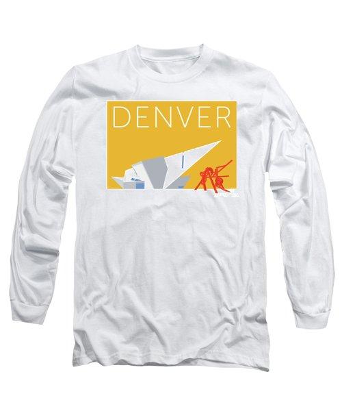 Denver Art Museum/gold Long Sleeve T-Shirt