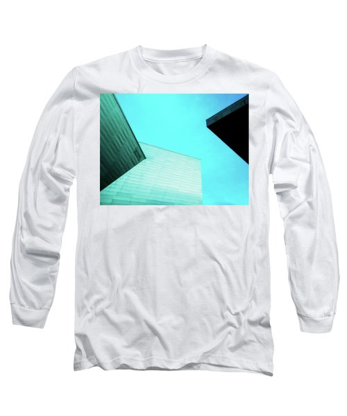 Long Sleeve T-Shirt featuring the photograph Denver Art Museum Hamilton by Marilyn Hunt