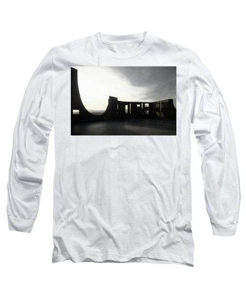 Long Sleeve T-Shirt featuring the photograph Denver Art Museum Ponti 2 by Marilyn Hunt