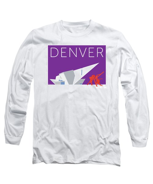 Denver Art Museum/purple Long Sleeve T-Shirt