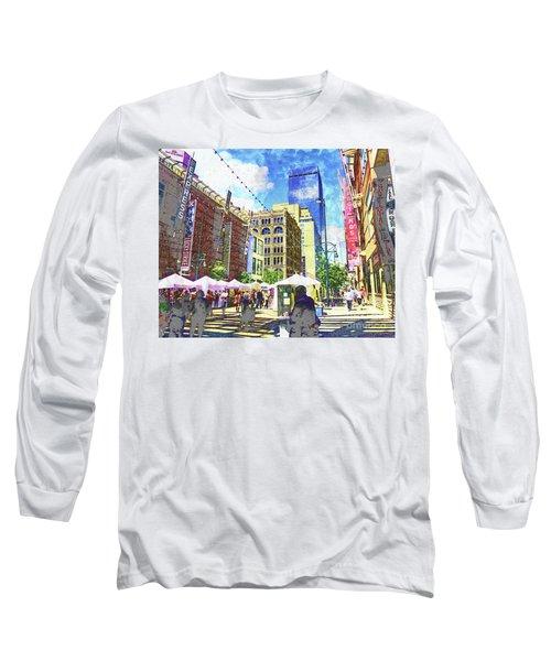 Denver Art Walk Long Sleeve T-Shirt