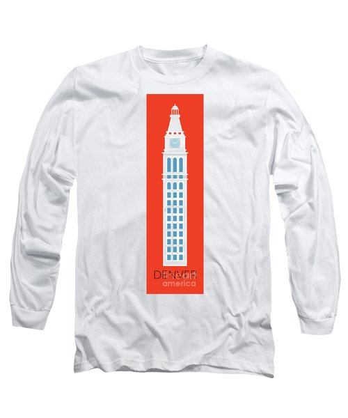 Denver D And F Tower/tall Long Sleeve T-Shirt