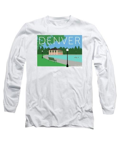 Denver Washington Park/blue Long Sleeve T-Shirt