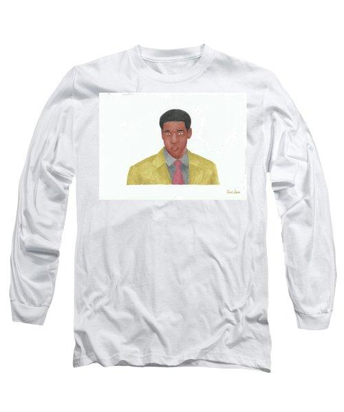 Denzel Washington Long Sleeve T-Shirt