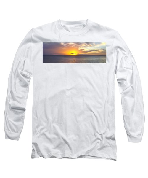 Departing St. Lucia Long Sleeve T-Shirt
