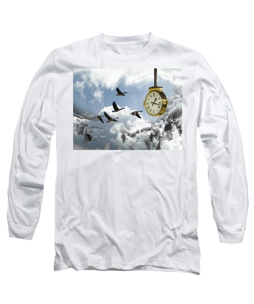 Departures Long Sleeve T-Shirt