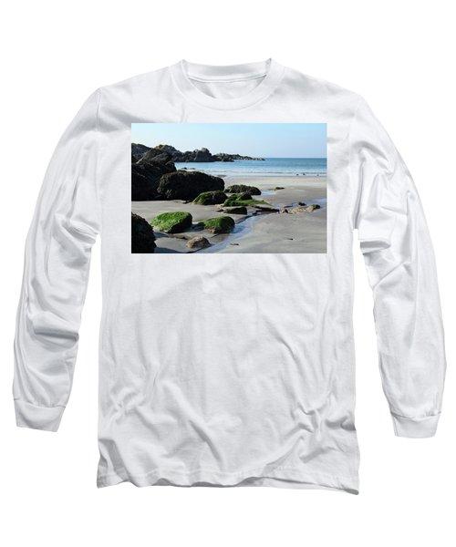 Derrynane Beach Long Sleeve T-Shirt by Marie Leslie
