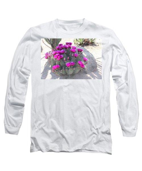Desert Cactus Long Sleeve T-Shirt