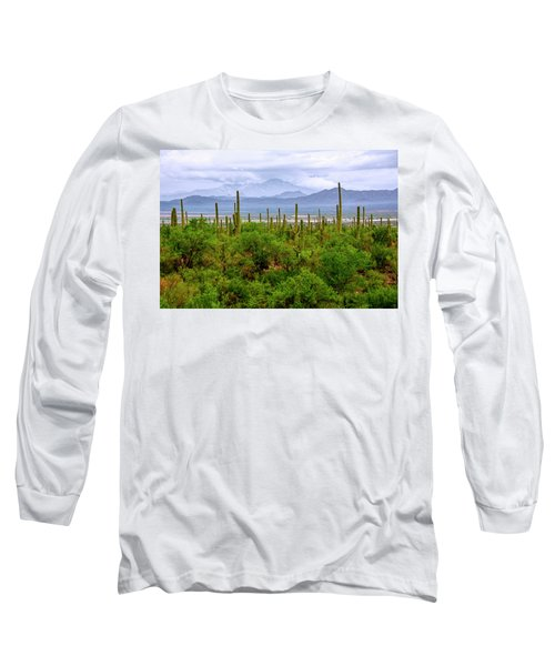 Desert Green Long Sleeve T-Shirt
