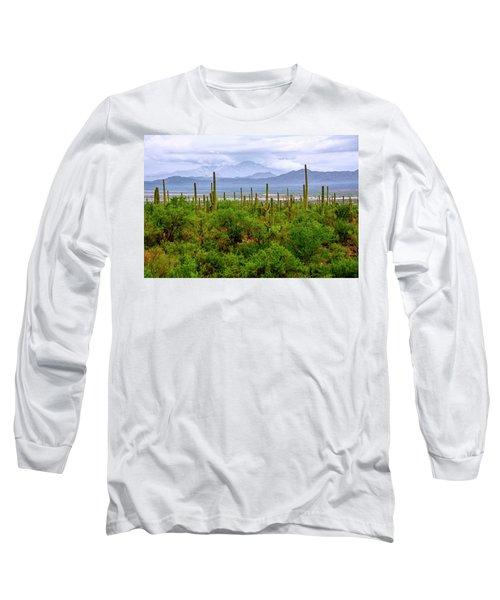 Desert Green Long Sleeve T-Shirt