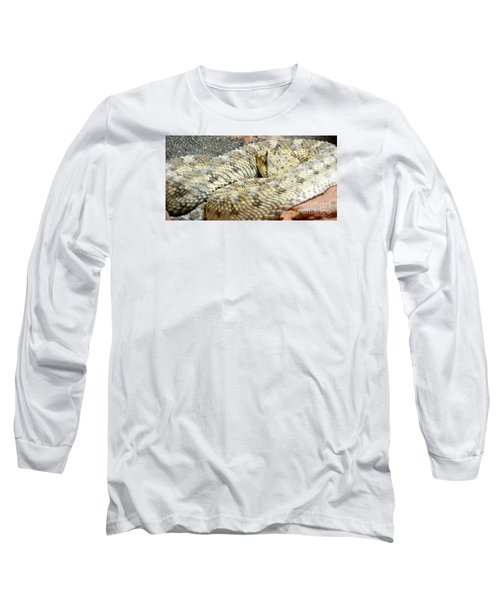 Desert Horned Viper Long Sleeve T-Shirt by KD Johnson
