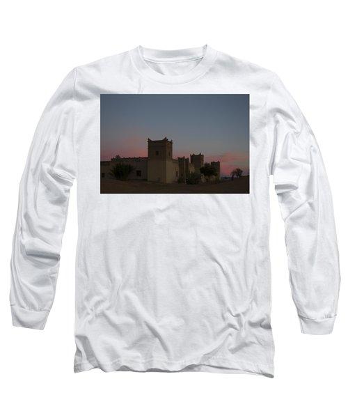 Desert Kasbah Morocco 2 Long Sleeve T-Shirt by Kathy Adams Clark