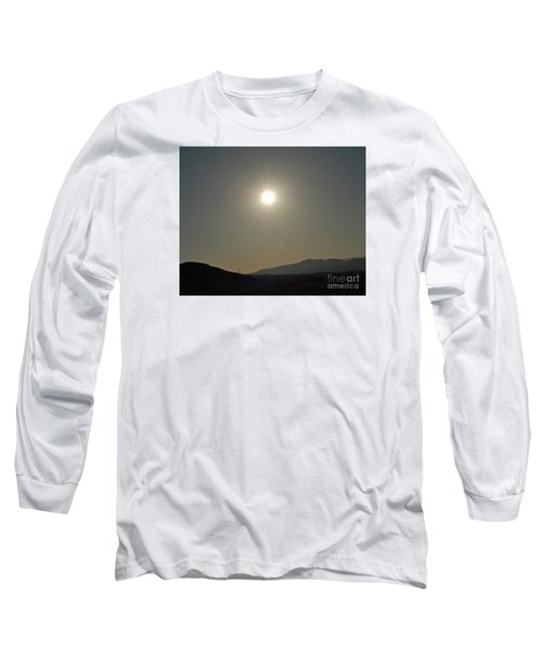 Long Sleeve T-Shirt featuring the digital art Desert Sun by Walter Chamberlain