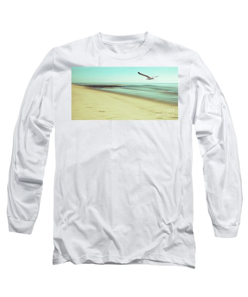 Long Sleeve T-Shirt featuring the photograph Desire Light Vintage2 by Hannes Cmarits