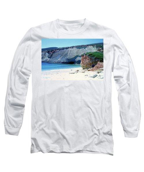 Desolated Island Beach Long Sleeve T-Shirt