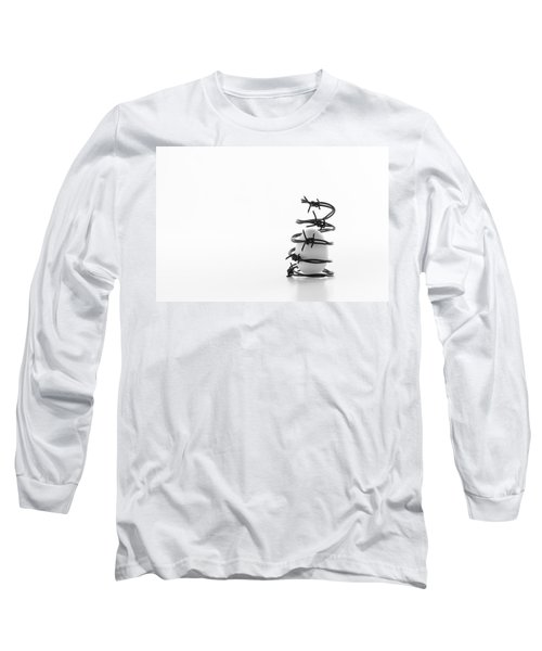 Long Sleeve T-Shirt featuring the photograph Destined To Be A Prisoner For Life by Yvette Van Teeffelen