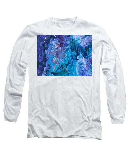 Detail Of Waves 6 Long Sleeve T-Shirt