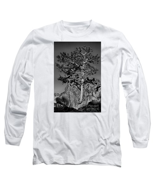 Determined, Monochrome Long Sleeve T-Shirt