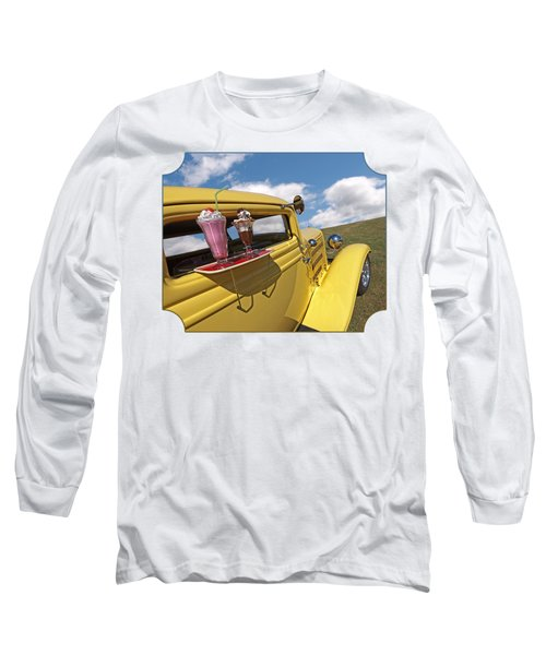 Deuce Coupe At The Drive-in Long Sleeve T-Shirt
