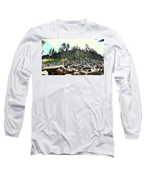 Devils Postpile Wide Long Sleeve T-Shirt
