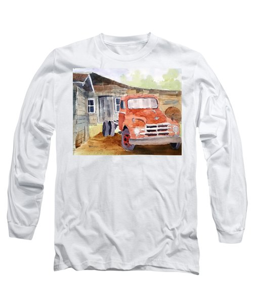 Diamond In The Rough Long Sleeve T-Shirt by Larry Hamilton