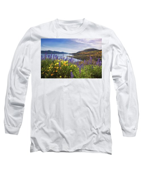 Diamond Valley Long Sleeve T-Shirt by Tassanee Angiolillo
