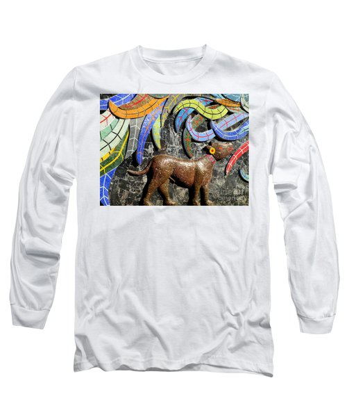 Diego Rivera Mural 4 Long Sleeve T-Shirt by Randall Weidner