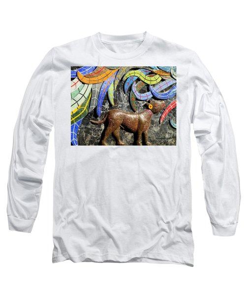 Diego Rivera Mural 4 Long Sleeve T-Shirt