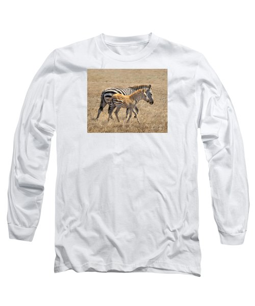 Different Stripes Long Sleeve T-Shirt by Alice Cahill