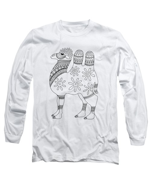Difficult Camel Long Sleeve T-Shirt by Sarah Rosedahl