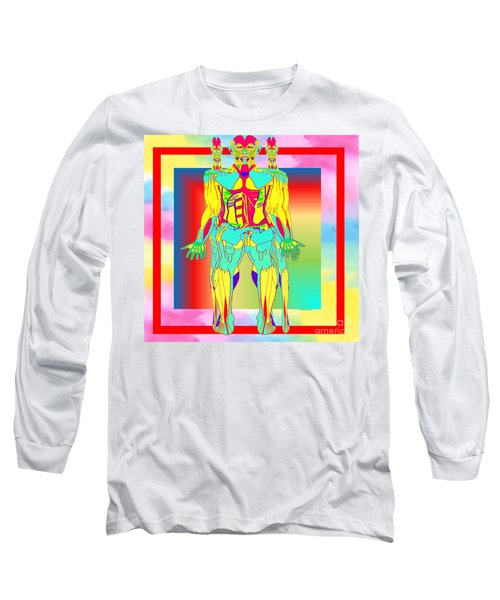Dilemmas Long Sleeve T-Shirt by Belinda Threeths