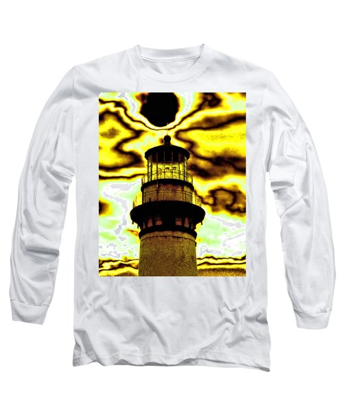 Long Sleeve T-Shirt featuring the photograph Dimensional Transfer Station by Bob Wall