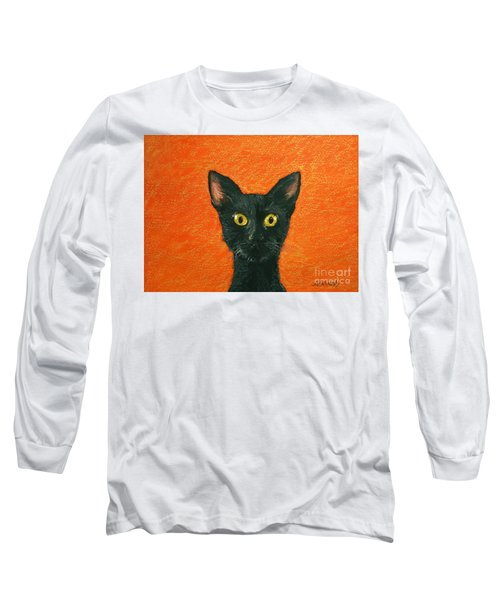 Dinner? Long Sleeve T-Shirt by Marna Edwards Flavell