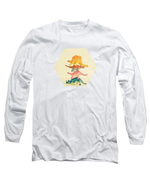 Dinosaur Antics Long Sleeve T-Shirt