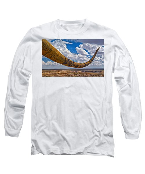 Dinosaur Tales Long Sleeve T-Shirt by Gary Warnimont