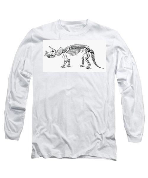 Dinosaur: Triceratops Long Sleeve T-Shirt