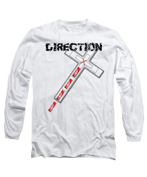 Direction Long Sleeve T-Shirt