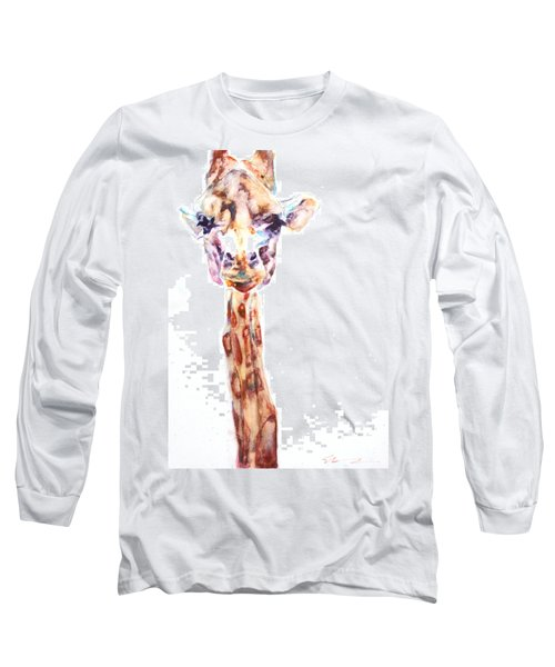 Disappointed Giraffe Long Sleeve T-Shirt