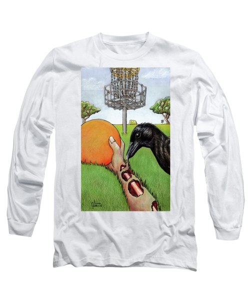 Disc Golf Nightmare Long Sleeve T-Shirt