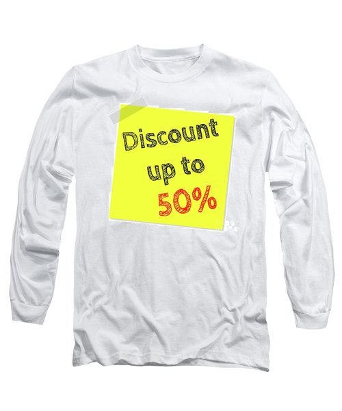 Discount Funny T-shirt Long Sleeve T-Shirt by Esoterica Art Agency