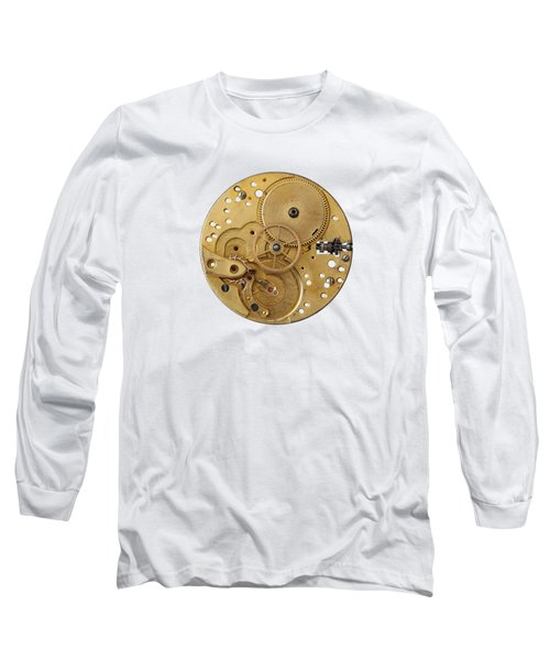 Dismantled Clockwork Mechanism Long Sleeve T-Shirt