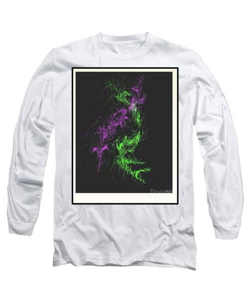 Long Sleeve T-Shirt featuring the digital art Distortion by John Krakora