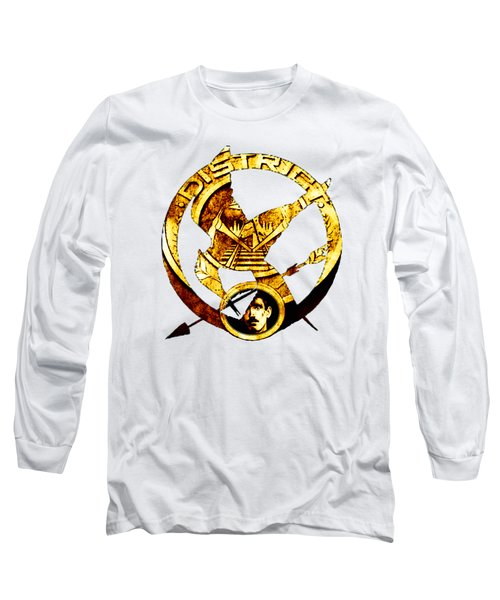 Long Sleeve T-Shirt featuring the photograph District 12 T-shirt by Kathy Kelly