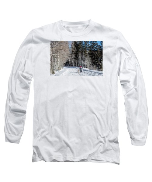 Do They Sell Snow Tires For Bikes Long Sleeve T-Shirt by Carol M Highsmith