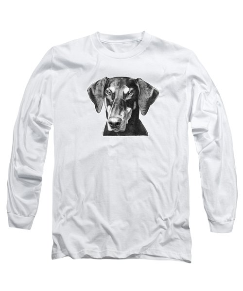 Doberman Long Sleeve T-Shirt