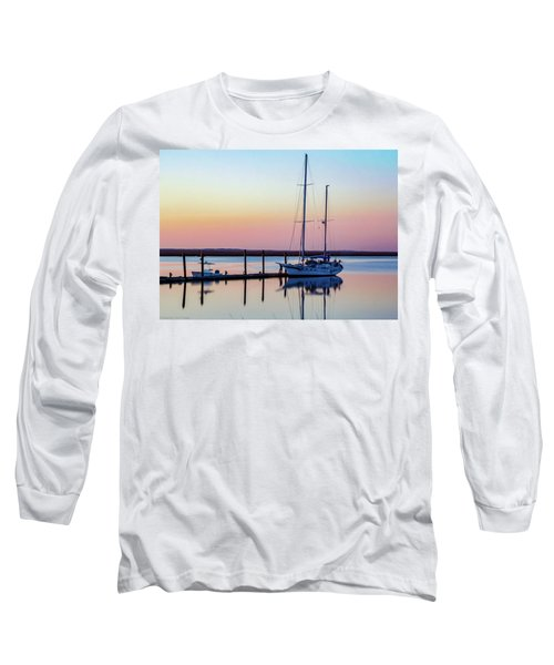 Docked On Jekyll Island Long Sleeve T-Shirt