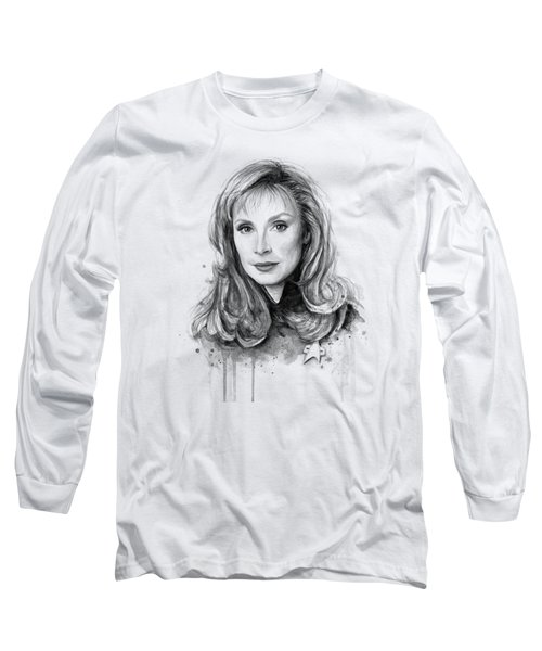 Doctor Beverly Crsuher Long Sleeve T-Shirt by Olga Shvartsur